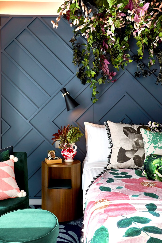 "<p>***WEST HOTEL, SYDNEY***<p> <p>Textile design duo [Bonnie and Neil](https://www.homestolove.com.au/meet-designer-bonnie-ashley-of-bonnie-and-neil-5727|target=""_blank"") along with floral stylists [The Hunted Yard](http://www.thehuntedyard.com.au/