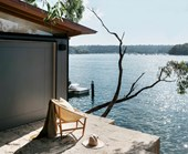 A Sydney harbourside home with enviable views