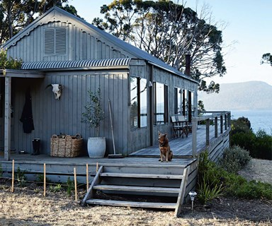 A revamped beach shack on its own private island