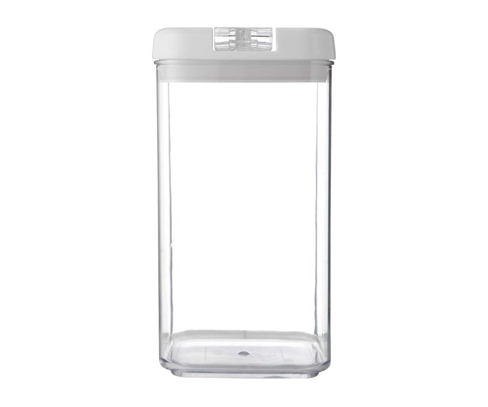 "**Jars and cannisters**'Riley' canister, $17, [Freedom](https://www.freedom.com.au/|target=""_Blank""
