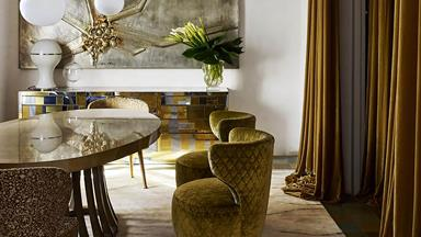 10 elegant entertaining spaces