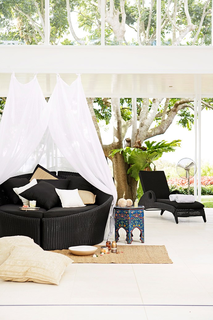 """If a built-in daybed isn't an option for your place, there are plenty of modular daybeds available from [outdoor furniture](https://www.homestolove.com.au/15-outdoor-furniture-picks-2179