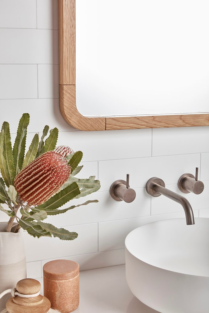 Barben tapware offers a range of on-trend finishes for those seeking to make a statement.