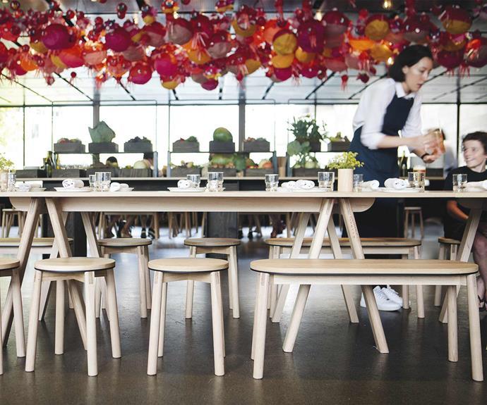 **Jason Stancombe** Jason designed the furniture for 2018's Supernormal Natsu pop-up restaurant event.