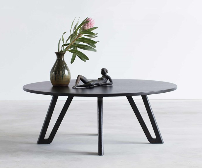 **Nathan Day** Nathan's 'Quarterlight' coffee table highlights Nathan's love of clean and uncluttered design. *Photography: Bo Wong*.