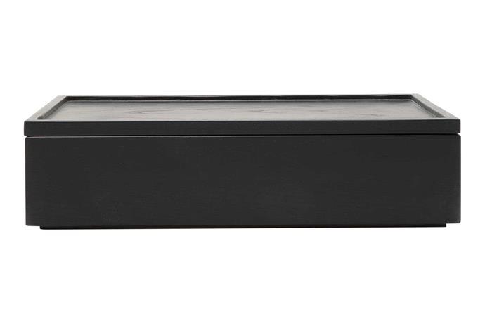 "**Jewellery storage** 'Dexta' storage box, $79.95, [Country Road](https://www.countryroad.com.au/|target=""_blank""|rel=""nofollow"")."
