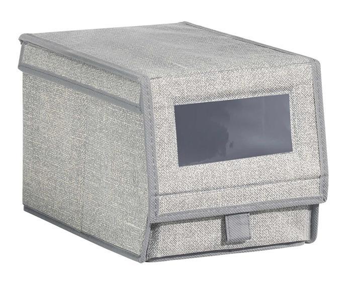 "**Shoe storage** Interdesign 'Aldo' shoe bin, $25, [Howards Storage World](https://hsw.com.au/?site&pg_name=index|target=""_blank""|rel=""nofollow"")."