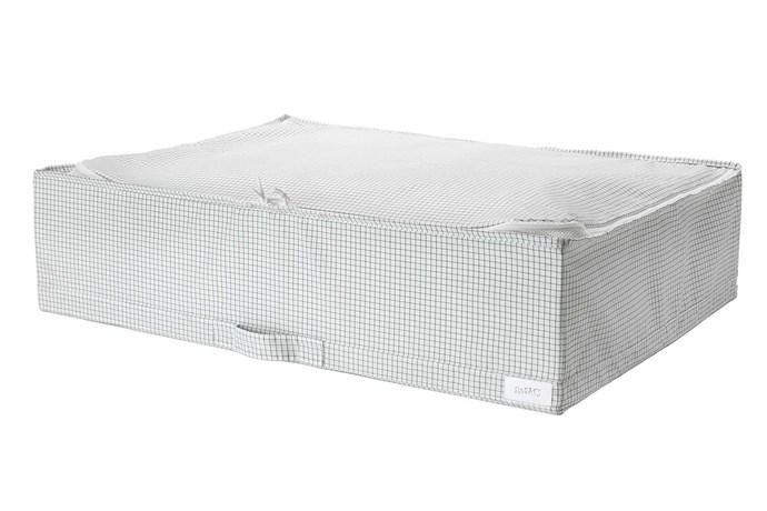"""**Shoe storage** 'Stuk' storage case, $14.99, [IKEA](https://www.ikea.com/au/en/ target=""""_blank"""" rel=""""nofollow"""")."""