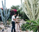 An artist's outdoor succulent garden hidden in the Hunter Valley