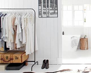 white-bedroom-clothes-rack-suitcase ensuite-jan15