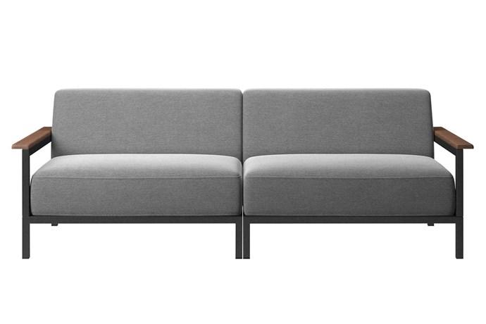 "'Rome' outdoor sofa, $4489, [BoConcept](https://www.boconcept.com/en-au/|target=""_Blank""|rel=""nofollow"")."