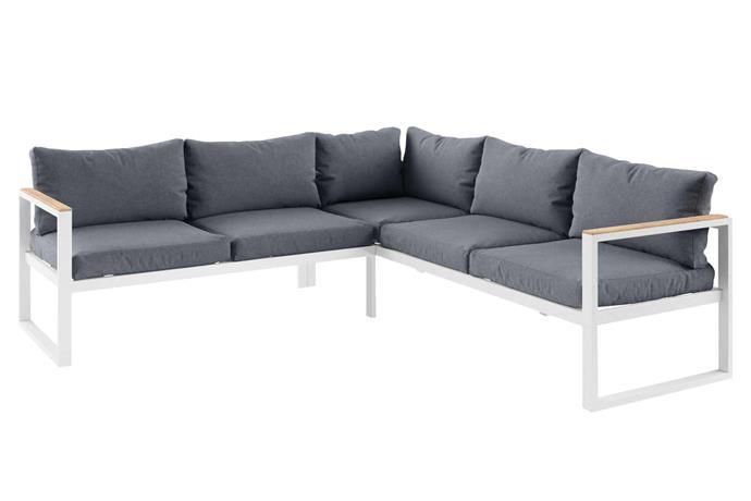 "'Malibu' outdoor sofa, $1499, [Brosa](https://www.brosa.com.au/|target=""_blank""|rel=""nofollow"")."