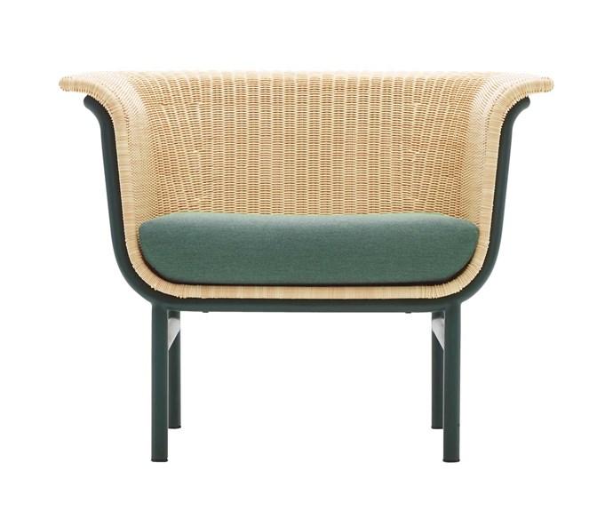 "Vincent Sheppard 'Wicked' lounge chair, $1845, [Cotswold InOut Furniture](https://cotswoldfurniture.com.au/en|target=""_blank""|rel=""nofollow"")."