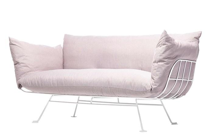 "Moooi 'Nest' sofa by Marcel Wanders, $5079, [Space Furniture](https://www.spacefurniture.com.au/|target=""_blank""|rel=""nofollow"")."