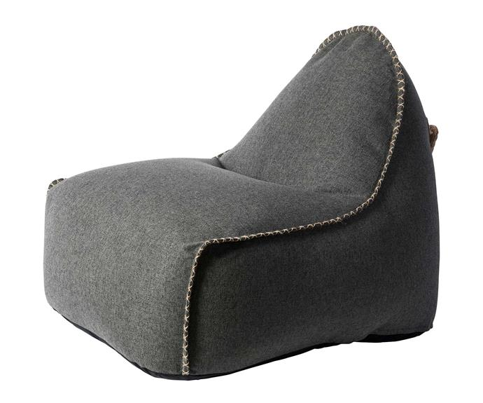 "Sackit 'Retroit Cobana' outdoor lounge chair, $820, [Robert Plumb](https://robertplumb.com.au/|target=""_blank""