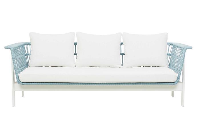 "'Lagoon' sofa, $4375, [GlobeWest](https://www.globewest.com.au/|target=""_blank""|rel=""nofollow"")."