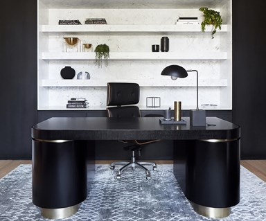10 luxe home offices