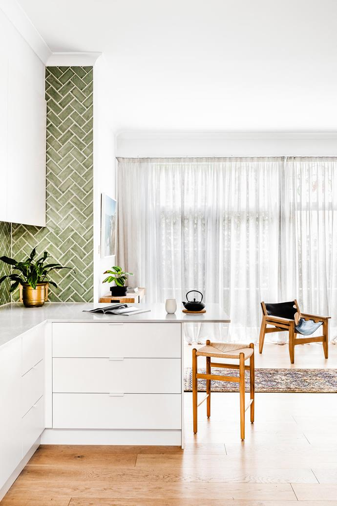 A combination of curtains and blinds work well to keep out the heat but still allow for natural light. *Photo:* Amelia Stanwix / *bauersyndication.com.au*