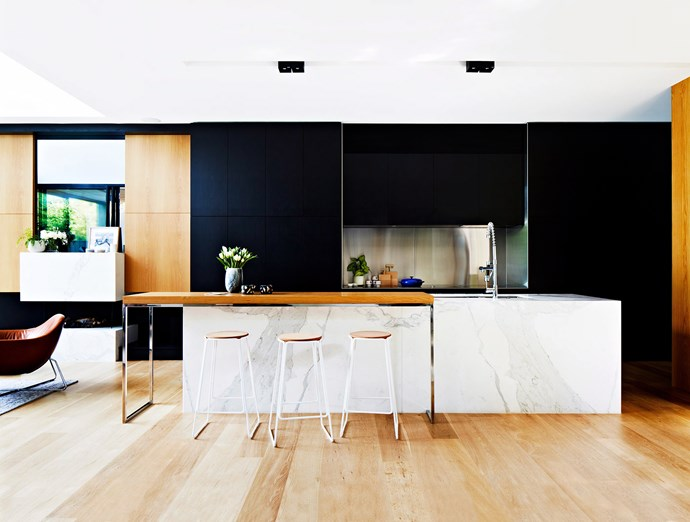 Concealing appliances behind cabinetry makes for a sophisticated and streamlined space. *Photo:* Armelle Habib / *bauersyndication.com.au*