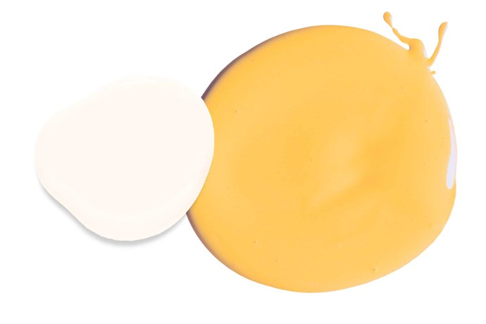 "**Sunny days** '4 Seasons' exterior low sheen paints in Love Note, $55.40/4L, and Golden Moon, $60.90/4L, [British Paints](http://www.britishpaints.com.au/|target=""_blank""