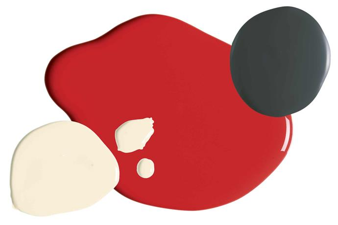 "**Colour combo** 'Weathershield' paint in Chalk USA, $74.95/4L, [Dulux](https://www.dulux.com.au/|target=""_blank""