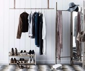 How to organise your wardrobe in 4 simple steps