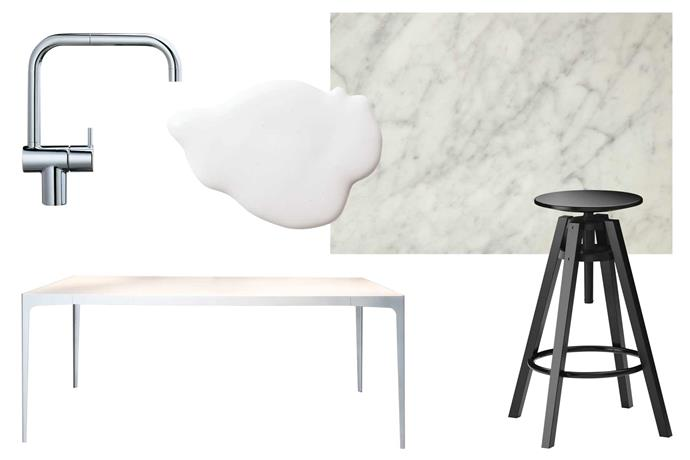 "**Get the look** (clockwise from left) 'KV1' tap in Chrome, $1460.80, [Vola](http://50years.vola.com/en|target=""_blank""