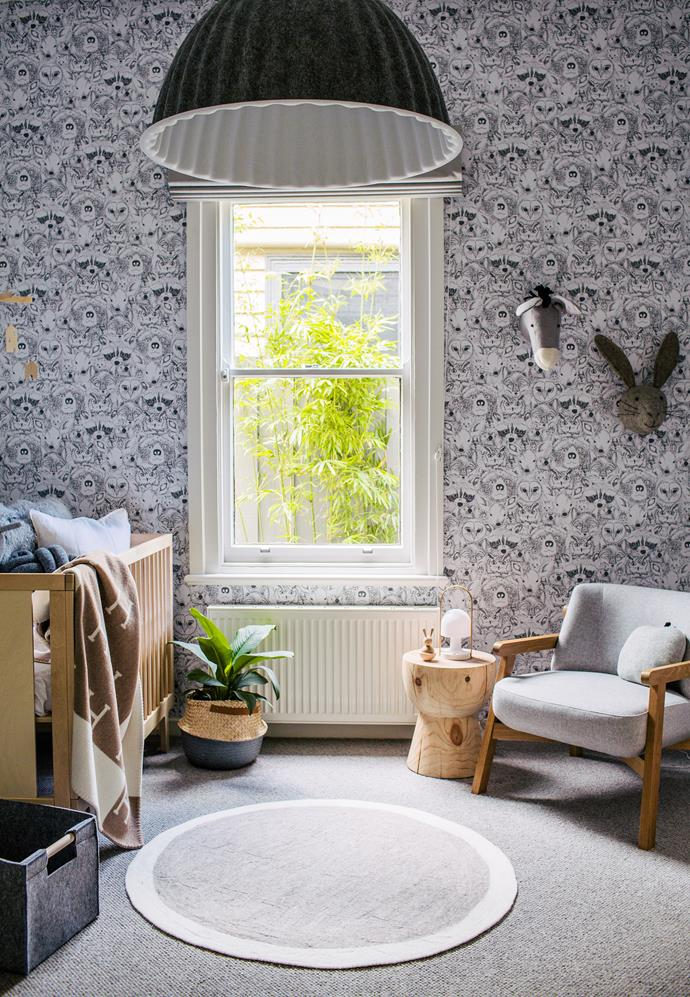 Animal motifs or decor items in neutral colours are great for creating a gender-neutral nursery.