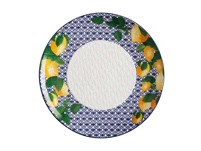 'Positano' Limone Round Platter, $50, Maxwell & Williams; maxwellandwilliams.com.au