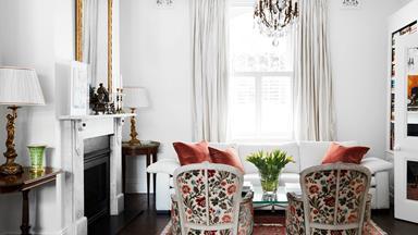 Inside an art lover's traditional Sydney terrace house