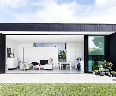 This 1920s period home in Sydney received a dramatic modern extension