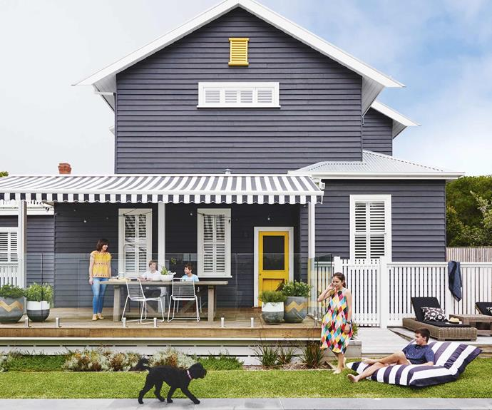 A 1920s Californian bungalow in Barwon Heads was given a sunny makeover