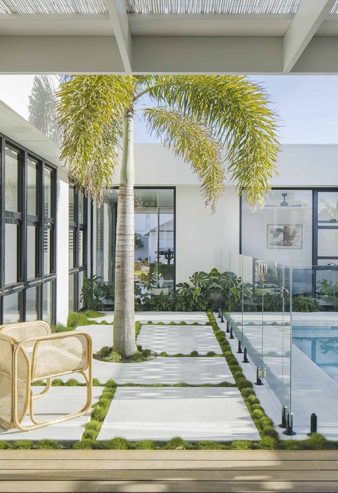 "**Backyard bliss** ""As this was the young family's first home, the design needed to be cost-efficient and space-efficient. Quality was prioritised over quantity to achieve a light and airy space,"" says Scott."