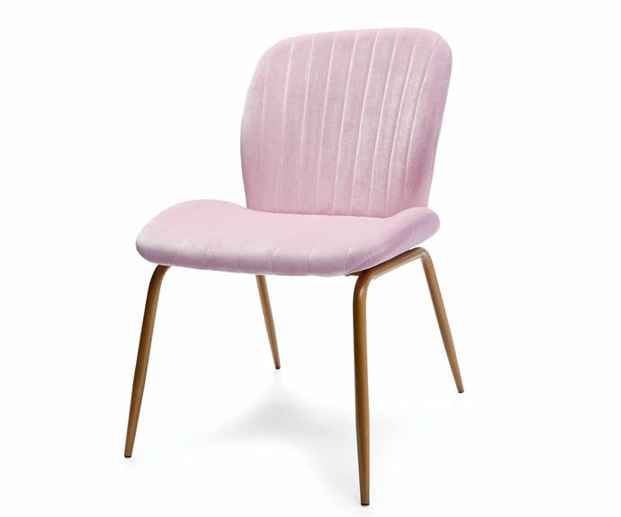 "Velvet occasional chair - Lilac, $59.00, [Kmart](https://www.kmart.com.au/|target=""_blank""|rel=""nofollow"")."