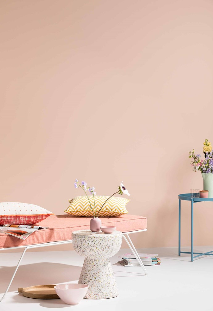 """**Pastels** """"Pastels are a big trend for 2019 that will continue to be seen across interiors, fashion and furnishings. The on-trend colour I see is soft peach – and, rather than contrasting it with other colours, it is being layered with deep variations of the same colour. We also see coral hues brightening up palettes and interiors providing a fresher and lighter approach to colour."""" — Wendy Rennie, colour expert, [Haymes Paint](https://www.haymespaint.com.au/