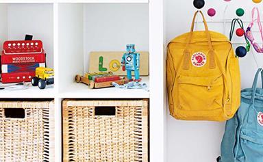 Neat & tidy: how to keep kids organised