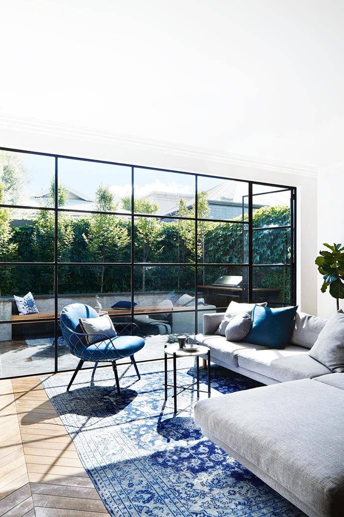 "**Open wide** The generous windows in this [renovated Edwardian semi](https://www.homestolove.com.au/this-edwardian-semi-was-renovated-with-imagination-style-and-attention-to-detail-18524|target=""_blank"") are perfect for soaking in the sun. *Styling: Heather Nette King 