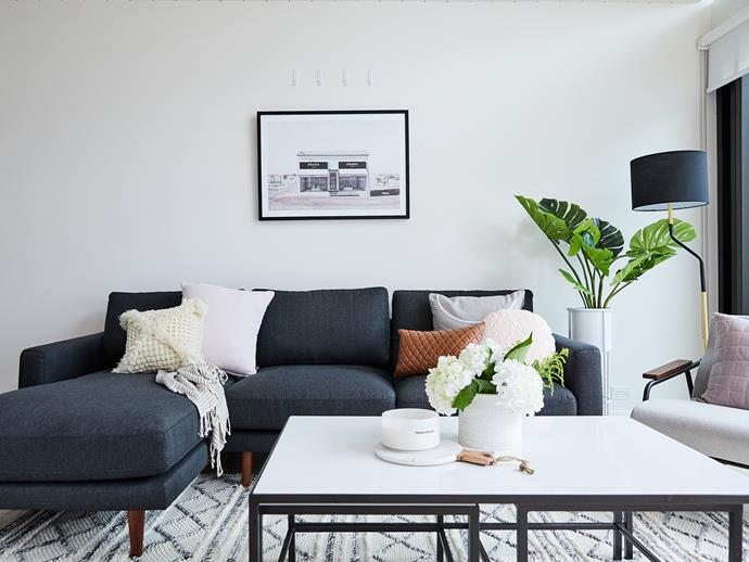 Fiona has combined Georgia and Lee's love of Urban Modern and Scandinavian design to create a contemporary home that is equal parts masculine and feminine.