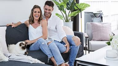 Georgia Love and Lee Elliott's Melbourne home makeover