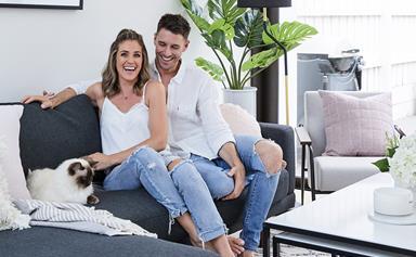 Georgia Love and Lee Elliott's Melbourne home makeover