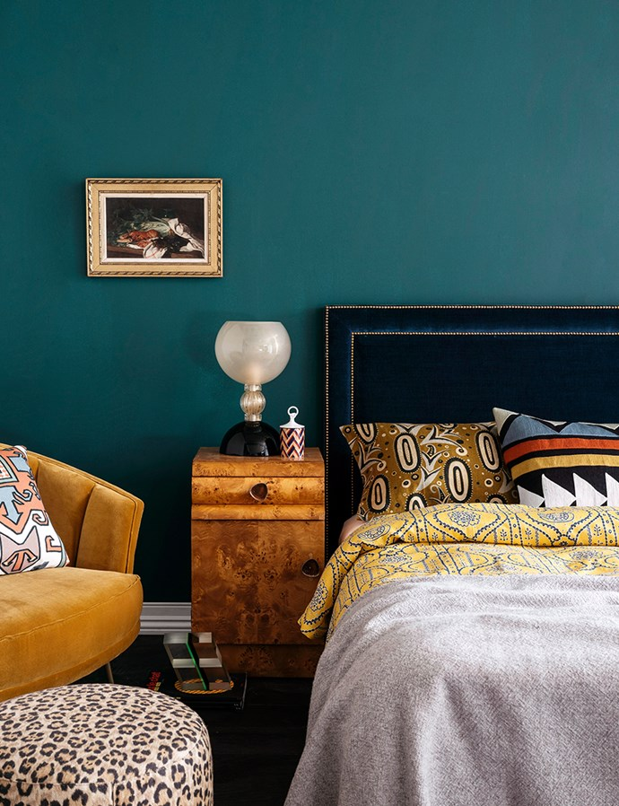 Find you often become sick of how your bedroom looks? An eclectic bedroom allows you to continually update your furniture pieces and decor whenever you like, without all the time and money. *Photo: Felix Forest/bauersyndication.com.au*