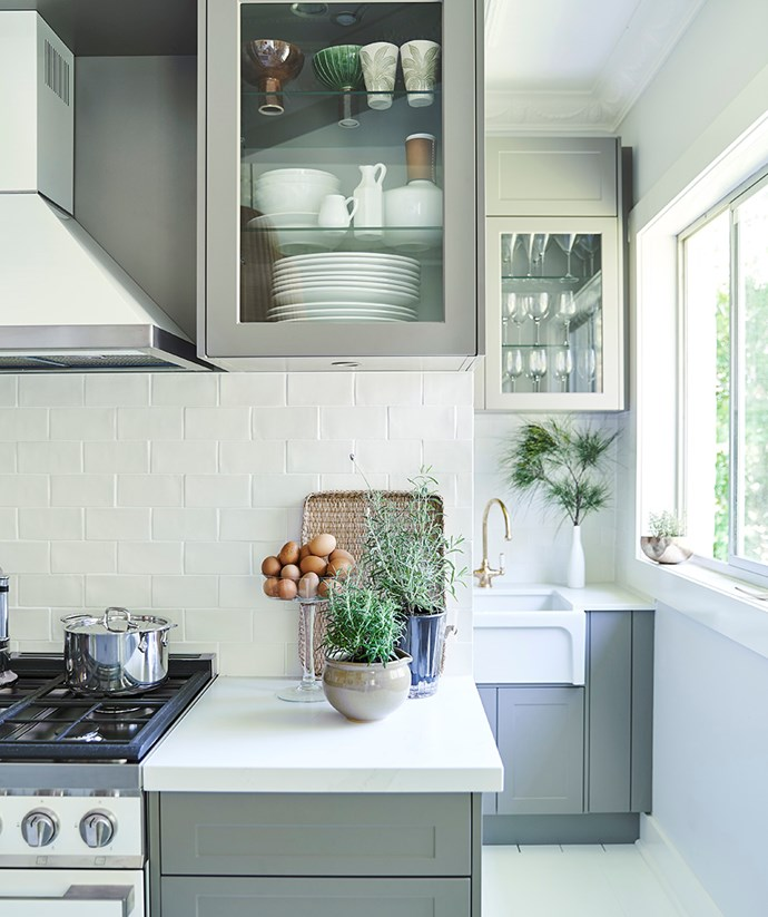 """Neale Whitaker's butlers pantry proves an elegant extension of his kitchen, with plentiful storage solutions and additional space for food preparation. *Image: Supplied / [Kinsman](https://kinsman.com.au/