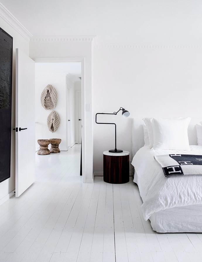 Clean, minimalist spaces allow beautiful pieces to shine. *Photo: Chris Warnes/bauersyndication.com.au*