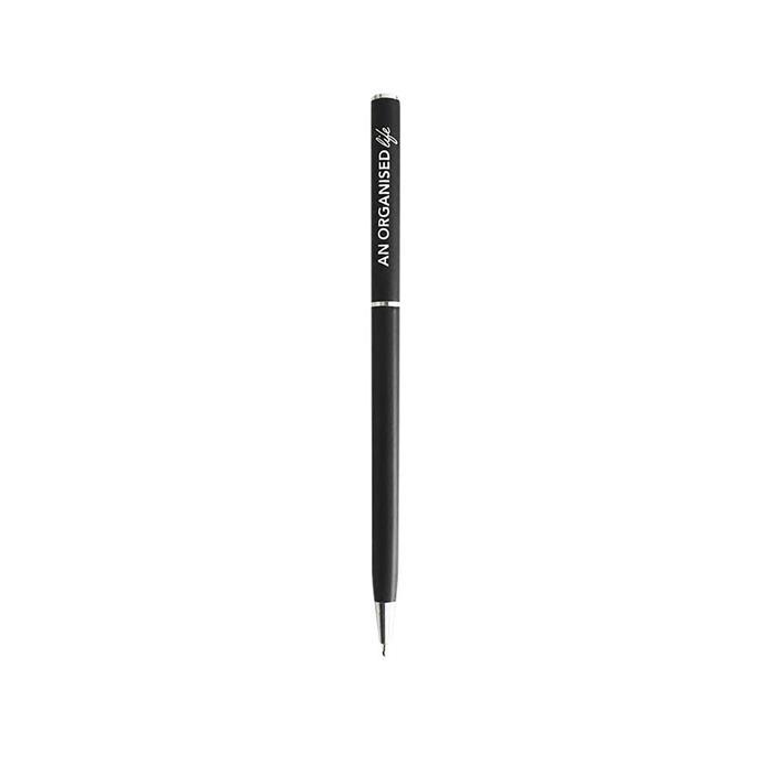 "Black pen, $3, [An Organised Life](https://www.anorganisedlife.com/|target=""_blank""|rel=""nofollow"")"