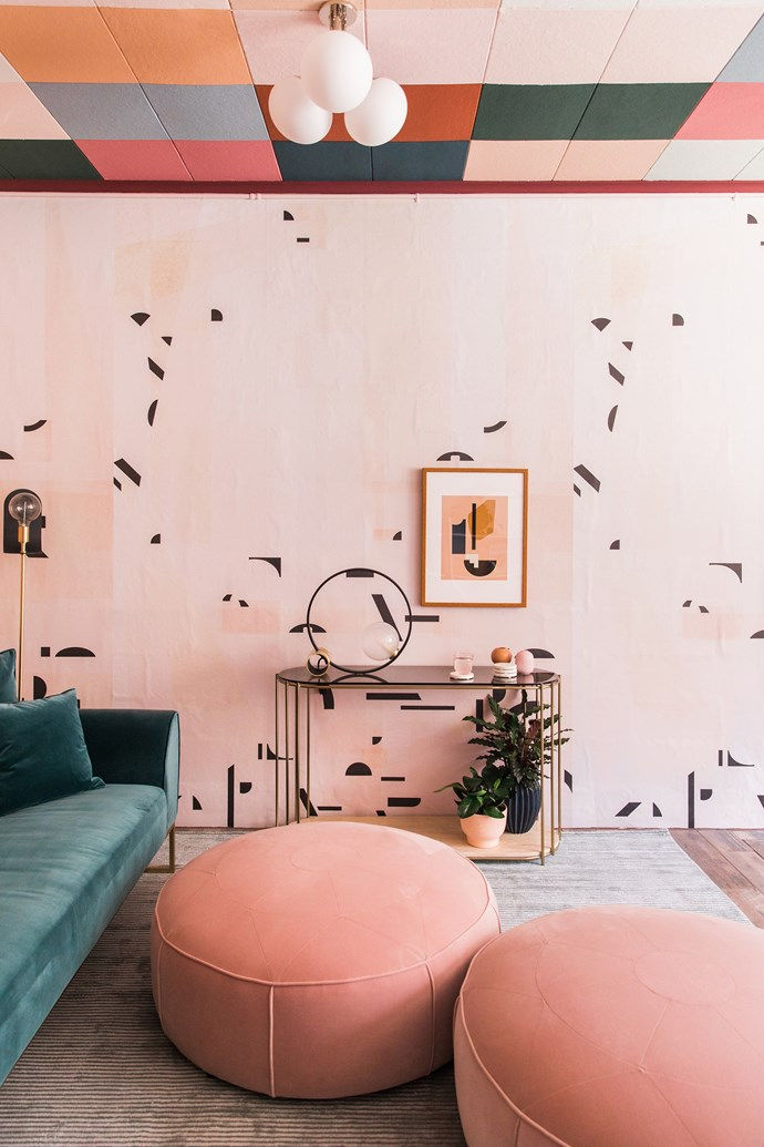 Millennial pink makes a joyous statement in this playful space. *Photo:* Echo and Earl, courtesy of A Pretty Cool Space.