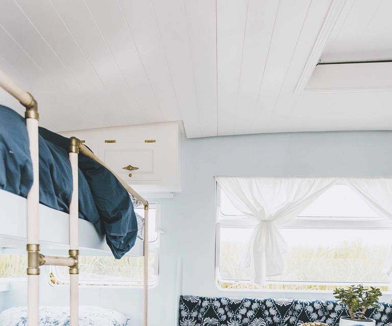 Meet Dolly: Michael and Carlene's caravan renovation