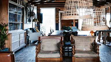 Shearing shed converted into guest quarters