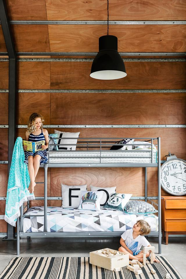 """Designer Alex Michael created this [beach retreat on the NSW South Coast](https://www.homestolove.com.au/shed-conversion-how-to-build-a-stylish-holiday-house-for-less-4882 target=""""_blank""""). *Photo:* Maree Homer"""