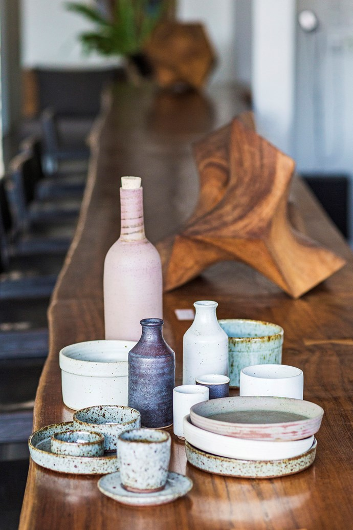 Ciscoandthesun ceramics are made from three types of clay found in mineral-rich regions of Cambodia and Bali. The new collection is called Earth & Fire.