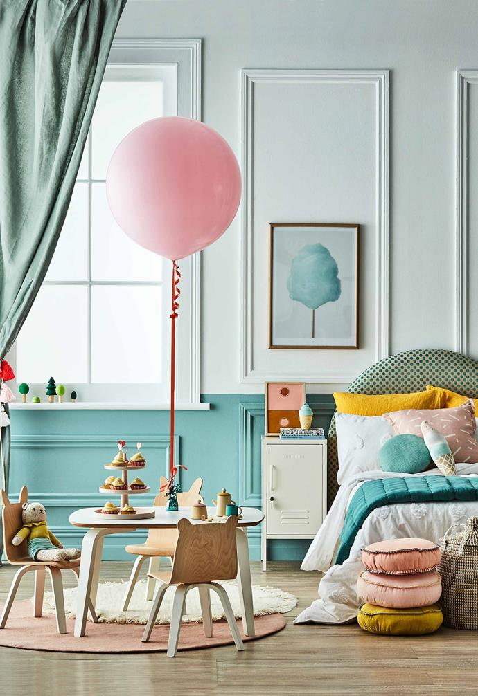 "*SStyling: Natalie Johnson | Photography: Will Horner | Styling assistance: Lucy Francis and Alex Austin. Wall painted in 'Wash & Wear' low sheen interior paint in Duck Egg Blue, $91.55/4L, [Dulux](https://www.dulux.com.au/|target=""_blank""